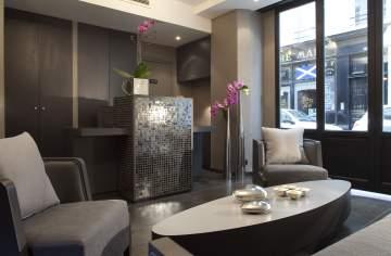 Foto da recepção do Hotel Caron Paris